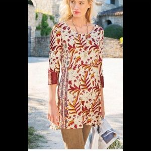 Soft Surroundings Sugar Maple Tunic Size Petie Sm